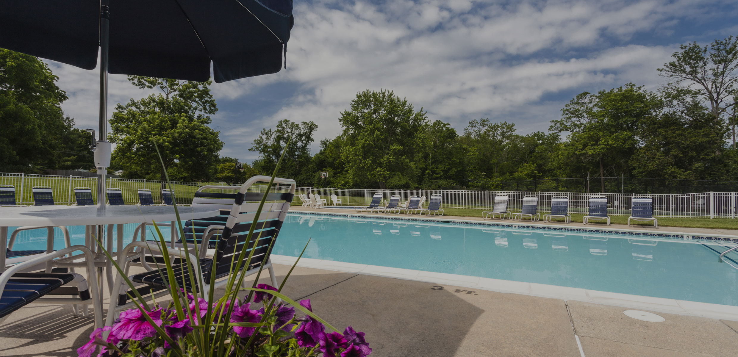 Pool at Townline Townhomes