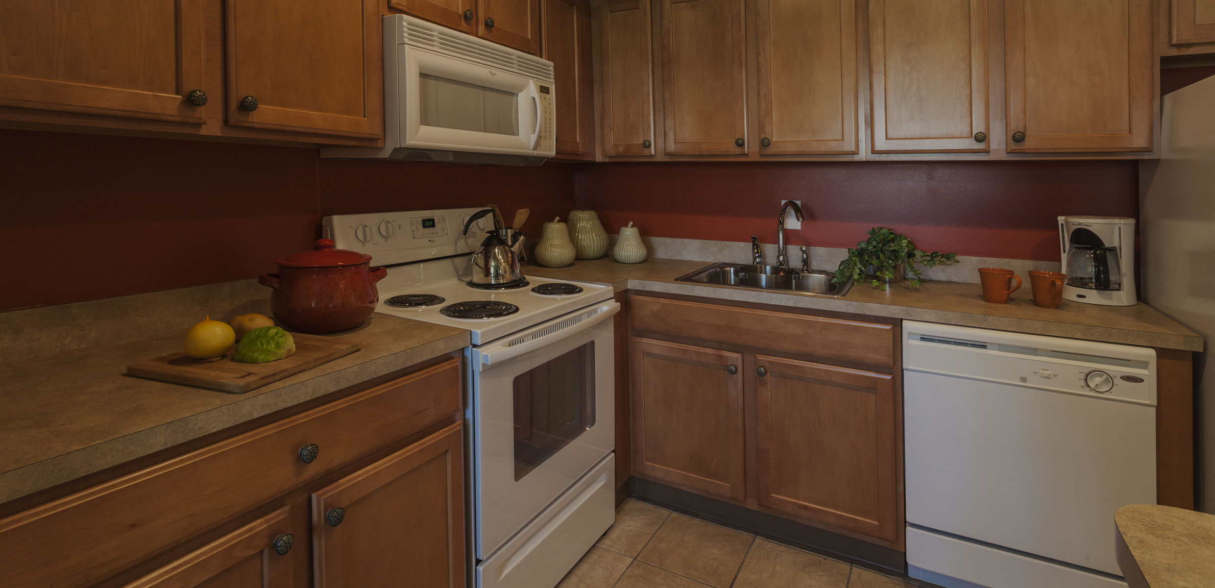Kitchen at Townlines Townhomes